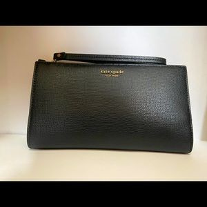 Black Kate Spade Clutch Wallet